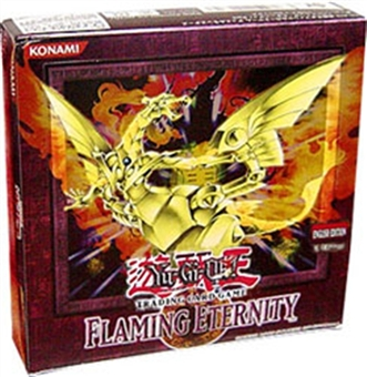 Upper Deck Yu-Gi-Oh Flaming Eternity Unlimited Booster Box