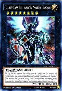 Yu-Gi-Oh Crossed Souls 1st Ed. Single Galaxy-Eyes Full Armor Photon Dragon Super Rare - NEAR MINT (NM)