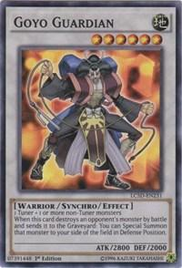 Yu-Gi-Oh Legendary Collection 5D's Single Goyo Guardian Super Rare - NEAR MINT (NM)