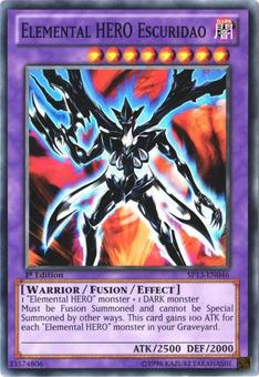 Yu-Gi-Oh SP13 Single Elemental HERO Escuridao Common - NEAR MINT (NM)
