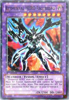 Yu-Gi-Oh SP13 Single Elemental HERO Escuridao Star Foil - NEAR MINT (NM)