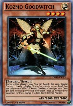 Yu-Gi-Oh CORE 1st Ed. Single Kozmo Goodwitch Super Rare - NEAR MINT (NM)