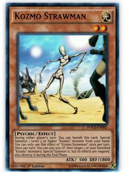 Yu-Gi-Oh DOCS 1st. Ed. Single Kozmo Strawman Ultra Rare - NEAR MINT (NM)