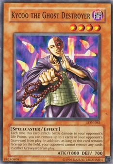Yu-Gi-Oh Labyrinth of Nightmare Single Kycoo the Ghost Destroyer Super Rare - SP