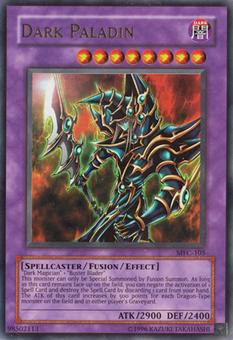 Yu-Gi-Oh Magician's Force Single Dark Paladin Ultra Rare - HEAVY PLAY (HP)