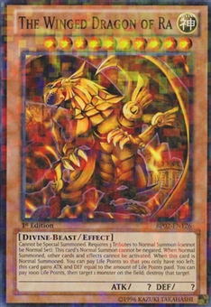 Yu-Gi-Oh Battle Pack 2 1st Ed. Single The Winged Dragon of Ra Mosaic Rare - NEAR MINT