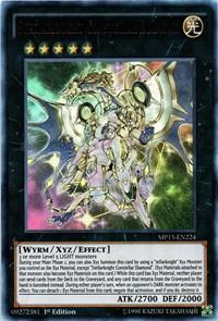 Yu-Gi-Oh MP15 1st Ed. Single Stellarknight Constellar Diamond Ultra Rare - NEAR MINT (NM)
