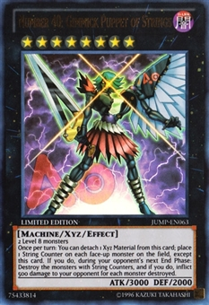 Yu-Gi-Oh Promotional Single Number 40: Gimmick Puppet of Strings Ultra Rare - MODERATE PLAY (MP)
