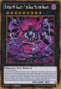 Yu-Gi-Oh Premium Gold 2 1st Ed. Single Number 95: Galaxy-Eyes Dark Matter Dragon - NEAR MINT (NM)