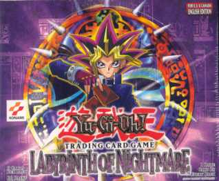 Upper Deck Yu-Gi-Oh Labyrinth of Nightmare Unlimited Booster Box (36-Pack)