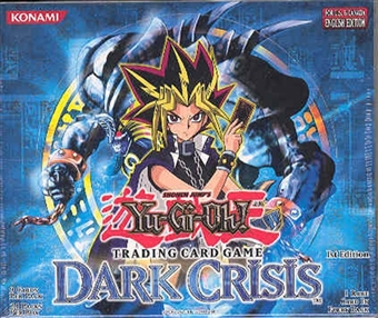 Upper Deck Yu-Gi-Oh Dark Crisis 1st Edition Booster Box (24-Pack)