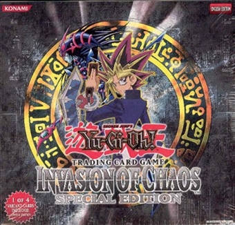 Upper Deck Yu-Gi-Oh Invasion of Chaos Special Edition Box