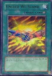 Yu-Gi-Oh Labyrinth of Nightmare 1st Edition Single United We Stand Ultra Rare
