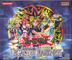 Upper Deck Yu-Gi-Oh Legacy of Darkness 1st Edition Booster Box (24-Pack)