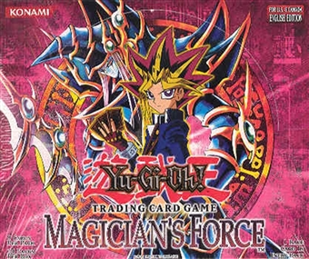 Upper Deck Yu-Gi-Oh Magician's Force Unlimited Booster Box (24-Pack)