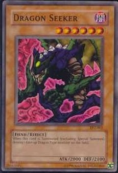 Yu-Gi-Oh Tournament Pack 2 Single Dragon Seeker Rare Foil (TP2-002)