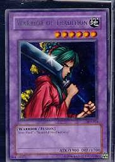Yu-Gi-Oh Tournament Pack 2 Single Warrior of Tradition Rare (TP2-014)