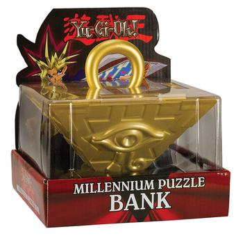 Yu-Gi-Oh!: Millennium Puzzle Collector's Coin Bank (USAopoly)