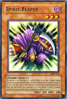 Yu-Gi-Oh Pharaonic Guardian Single Spirit Reaper Rare 076 - SLIGHT PLAY (SP)