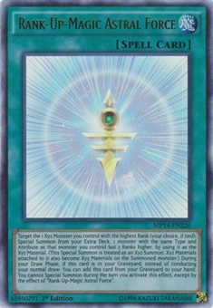 Yu-Gi-Oh Collectible Tins 1st Edition Single Rank-Up-Magic Astral Force Ultra Rare