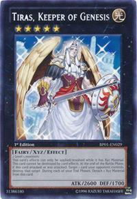 Yu-Gi-Oh Battle Pack Epic Dawn 1st Ed. Single Tiras, Keeper of Genesis Rare - NEAR MINT (NM)