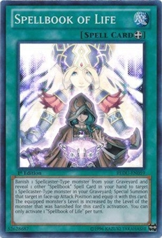 Yu-Gi-Oh Return of the Duelist 1st Edition Single Spellbook of Life Super Rare EN059