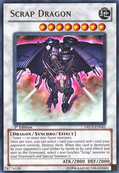 Yu-Gi-Oh Duelist Revolution 1st Ed. Single Scrap Dragon Ultra Rare - MODERATE PLAY (MP)