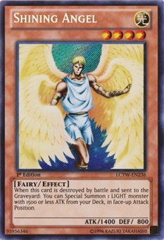 Yu-Gi-Oh Legendary Collection 1st Ed. Single Shining Angel Secret Rare - NEAR MINT (NM)