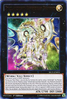 Yu-Gi-Oh Secrets of Eternity 1st Ed. Single Stellarknight Constellar Diamond Ultra Rare - NEAR MINT (NM)