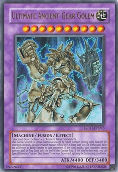 Yu-Gi-Oh Light of Destruction 1st Ed. Single Ultimate Ancient Gear Golem Ultra Rare