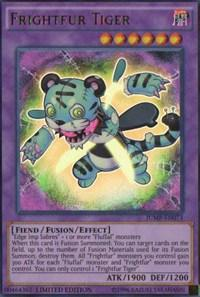 Yu-Gi-Oh JUMP Single Frightfur Tiger Ultra Rare - NEAR MINT (NM)