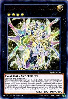 Yu-Gi-Oh CROS 1st Ed. Single Tellarknight Ptolemaeus Ultra Rare - NEAR MINT (NM)