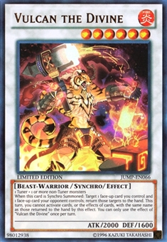 Yu-Gi-Oh Promotional Single Vulcan the Divine Ultra Rare - NEAR MINT (NM)