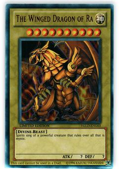 Yu-Gi-Oh YGLD Single The Winged Dragon of Ra Ultra Rare - NEAR MINT (NM)