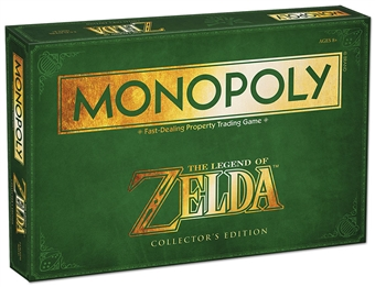 The Legend of Zelda Collector's Edition Monopoly Board Game (USAopoly)
