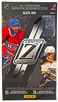 2010/11 Panini Zenith Hockey Hobby 3-Pack Blaster 3-Box Lot