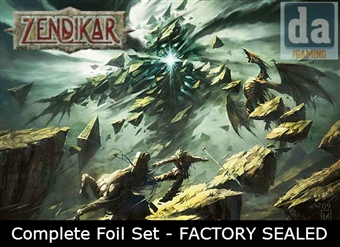 Magic the Gathering Zendikar Complete Set FOIL - FACTORY SEALED