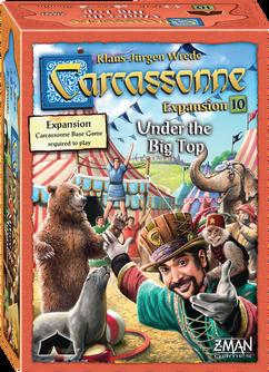 Carcassonne: Under the Big Top Expansion (Z-Man Games)