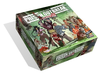 Zombicide: Season 2 - Prison Outbreak Board Game