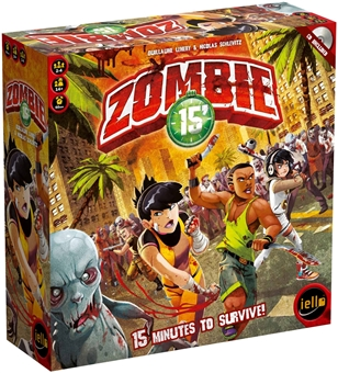 Zombie 15' Board Game Box (Iello) - Regular Price $59.95 !!!