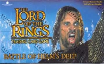 Decipher Lord of the Rings Battle of Helms Deep Booster Box