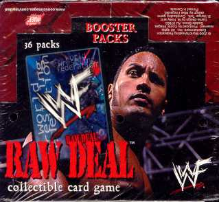 Comic Images WWE Raw Deal (Original) Wrestling Booster Box