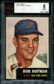 1953 Topps Baseball #182 Bobby Hofman BVG 8 (NM-MT) *0886