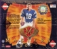 2000 Collector's Edge Masters Football Hobby Box