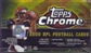 2000 Topps Chrome Football Hobby Box