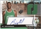 2004/05 Upper Deck SPx Throwback #134 Al Jefferson RC Auto Jersey