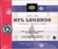 2004 Upper Deck Legends Football Hobby Box