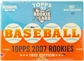 2007 Topps Rookies - 1952 Edition Baseball Hobby Box