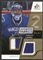 2008/09 Upper Deck SP Game Used Dual Authentic Fabrics Gold #AFLG Roberto Luongo /50