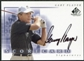 2002 Upper Deck SP Game Used Scorecard Signatures #SSGP Gary Player SP